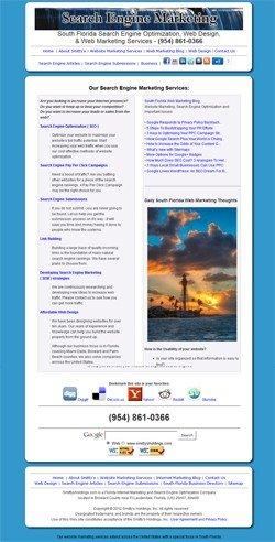 Smitty's Holdings - Web Makreting and Optimization