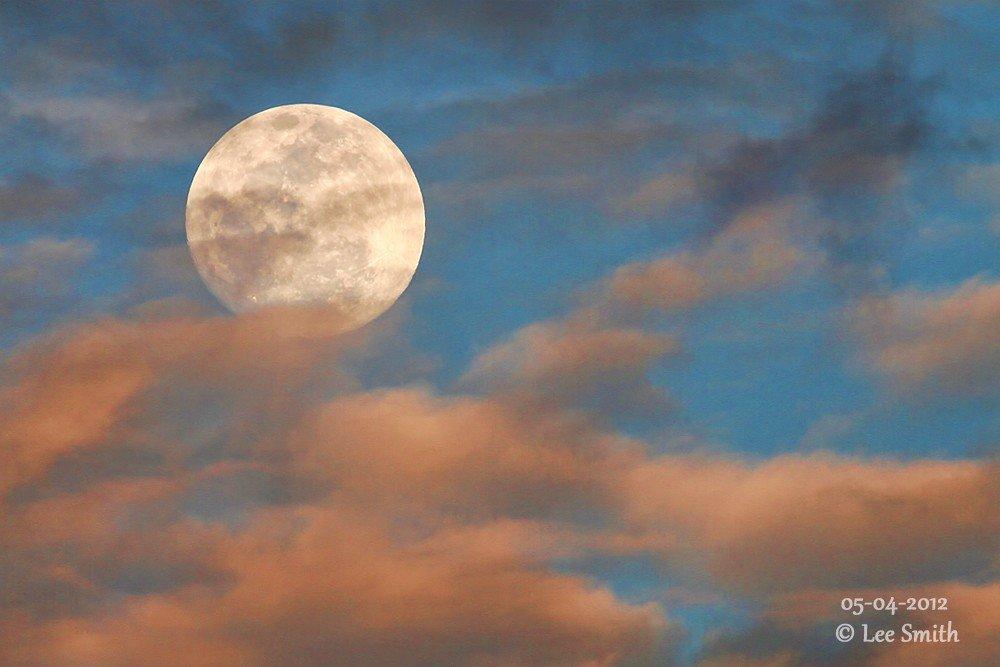 5-5-2012 - SuperMoon over South Florida