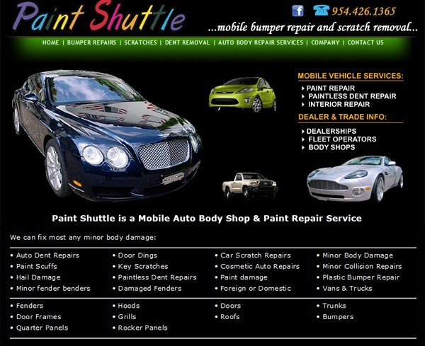 Paint Shuttle - Mobile Bumper Repairs and Scratch Removal