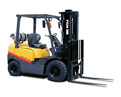 fourwheeled Atlanta Forklift  Truck Lift Rentals by SuperTech