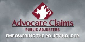 Advocate Claims Public Adjusters is a Florida Public Insurance Claim Adjuster.