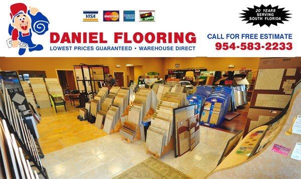 South Florida's Quality Carpet & Tile Floor Coverings - by Daniel Flooring
