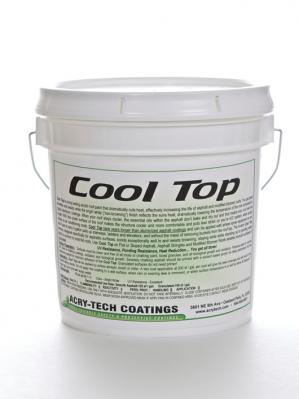 Acry Tech Cool Top Cool Roof Coatings  Reflective Roof Paints by Acry Tech