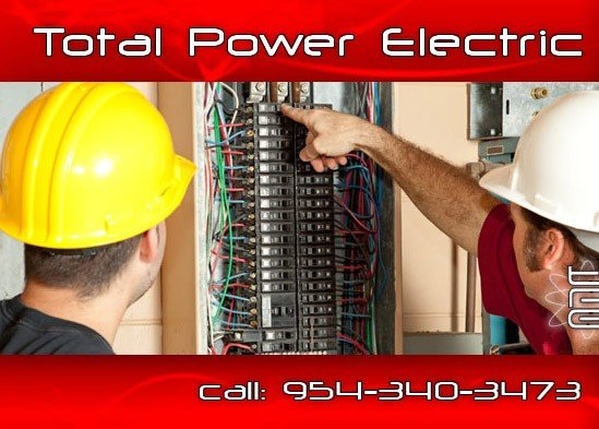 TotalPowerElectric Residential Electricians   Dade, Broward, Palm Beach   Home Electrical Work