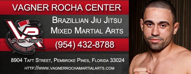 The Vagner Rocha Martial Arts Center teaching Brazilian Jiu-Jitsu & Mixed Martial Arts in Pembroke Pines, Florida