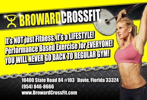 CrossFit Affliction, serving Broward, Dade, and the Palm Beaches.  We specialize in Strength, Power, and Endurance Training.