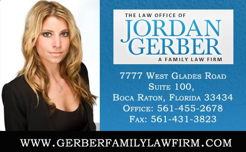 Jordan Gerber.P Boca Raton Family Law Attorney