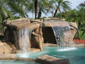 Sammet Caves small.cave  300x225 Boca Raton Pool Builder John Sammet   Offering Caves and Grottos for Swimming Pools
