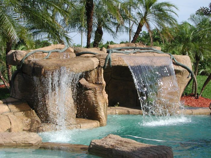 Sammet Caves Small.cave 300x225 Boca Raton Pool Builder John Sammet  Offering Caves And Grottos