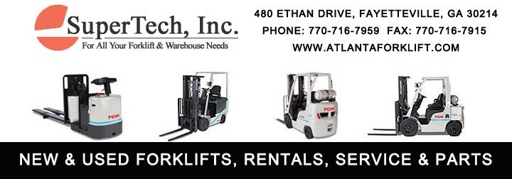 Atlanta Forklift - SuperTech - New & Used Forklifts, Rentals, Service & Parts