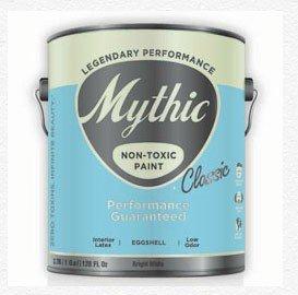 Mythic Classic NON TOXIC ZERO VOC Interior Eggshell Latex from EcoSimplista.com