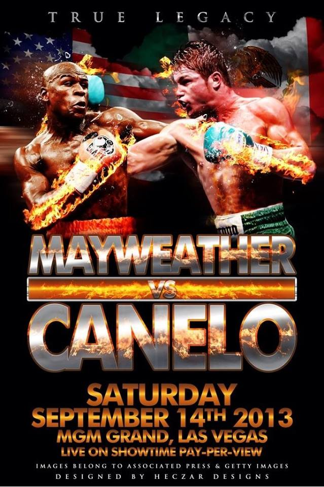 Mayweather Canelo Watch Boxings Best Fighters Mayweather vs Canelo during Rickeys Sports Bar  Grill
