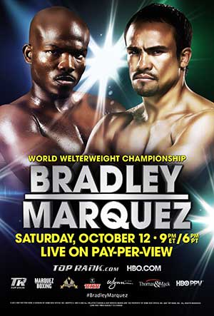 Boxing Bradley vs Marquez - October 2013