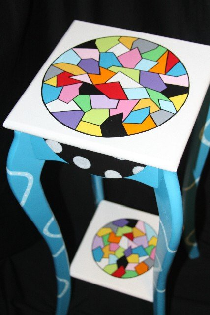 A Little Mosaic Table