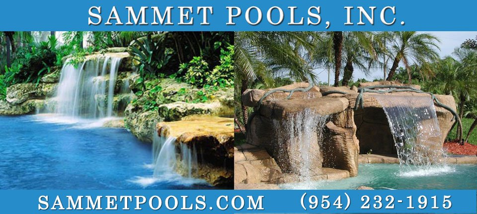 Sammet Pools - Pool Contractor Designs  Construction in Palm Beach  Broward Counties