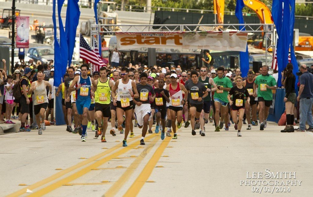 Miami 5K Race on Watson Island