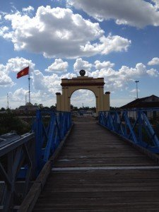Bridge over 17th Parallel