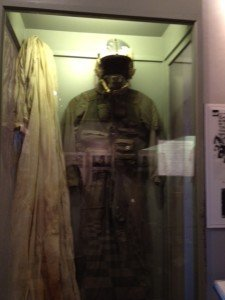 John McCain's flight suit and parachute at Hanoi Hilton