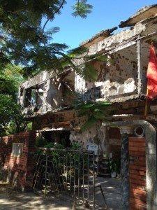 War drop in Quang Tri