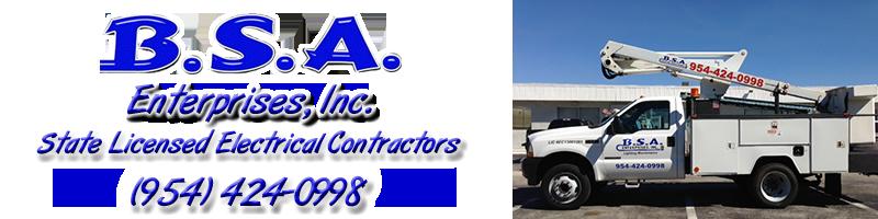BSA Enterprises - Broward Electrical Contractors
