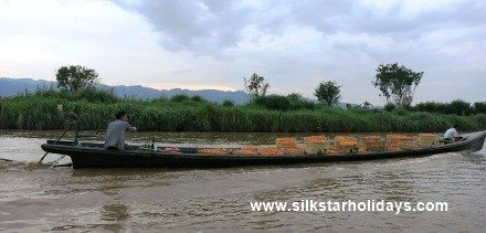Journey along Inle Lake
