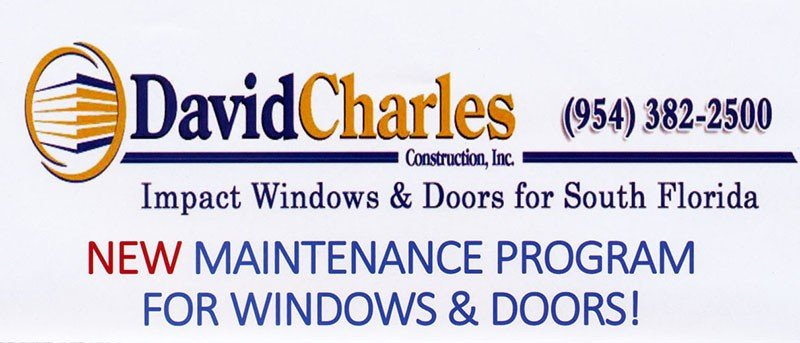 New Maintenance Program for Windows and Doors - Impact Windows Doors for South Florida