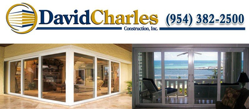 David Charles Construction, Inc. is a Florida State Certified General Contractor for Windows and Doors - Licensed - Insured
