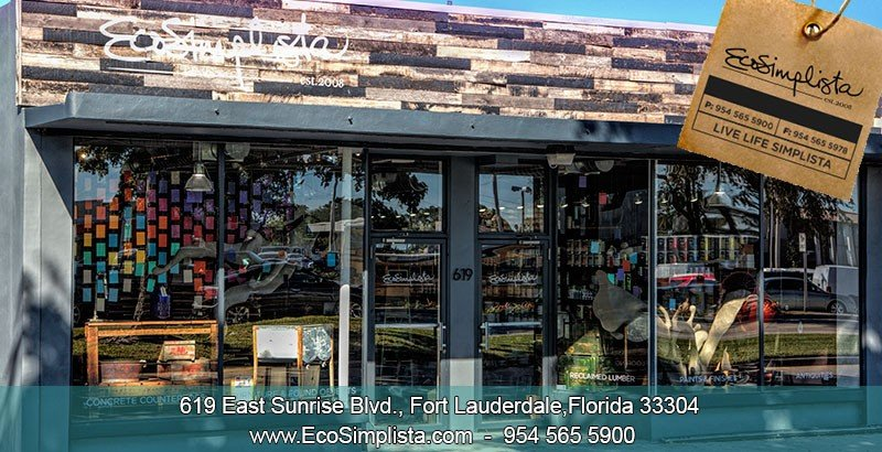 Eco Simplista - South Florida's leader and supplier of eco-friendly building supplies and home solutions including reclaimed wood.