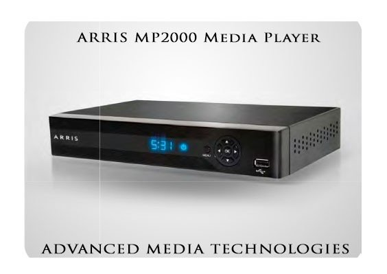 ARRIS MP2000 Media Player