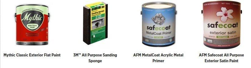 Mythic Paint - Ultra low odor - Zero VOC and Zero Carcinogen