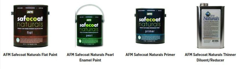AFM Safecoat Naturals products are organic, plant-based finishes that protect and beautify your environment safely, naturally and sustainably.
