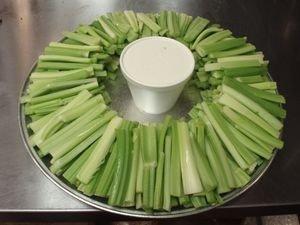 Celery Stick Platter