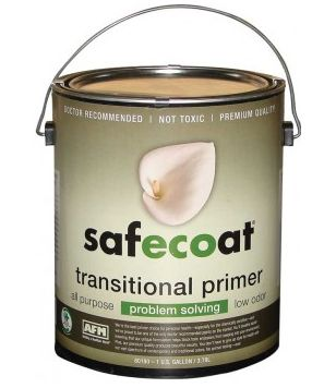 AFM Safecoat Transitional Primer is a premium quality, waterbased, flat finish universal primer