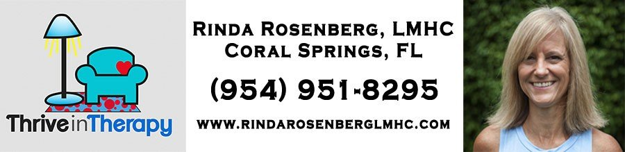 Thrive in Therapy Counseling Services, Inc. - Rinda Rosenberg, LMHC, Couples Therapy, Individual Therapy