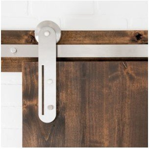 The Helio sliding barn door hardware series takes architectural hardware to a new level.