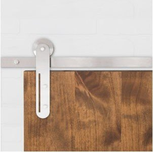 The Helix sliding barn door hardware series takes architectural hardware to a new level.