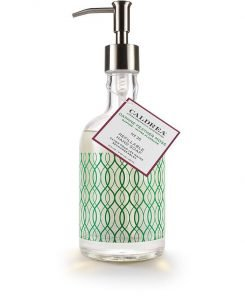 A glass bottled hand soap is a great gift for anyone on your list!