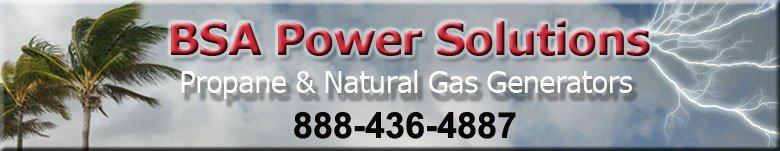 BSA Power Solution - South Florida Briggs & Stratton Standby Generator Dealer