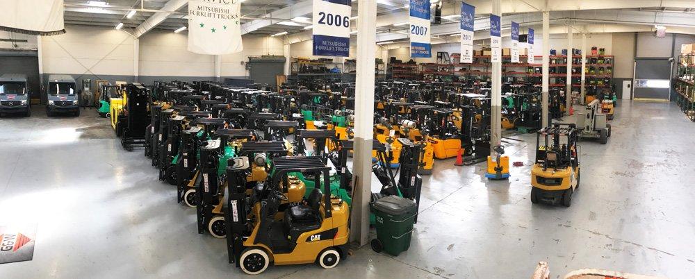 G&W Equipment - Forklift Rentals - 800-768-6316