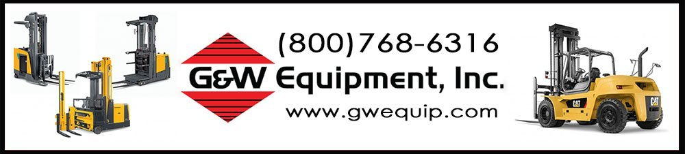 G&W Equipment, Inc., is a locally owned and operated lift truck & material handling company in North Carolina, South Carolina and Georgia. G&W Equipment is an authorized dealer for Cat Lift Trucks, Mitsubishi Forklifts and Jungheinrich Forklifts.