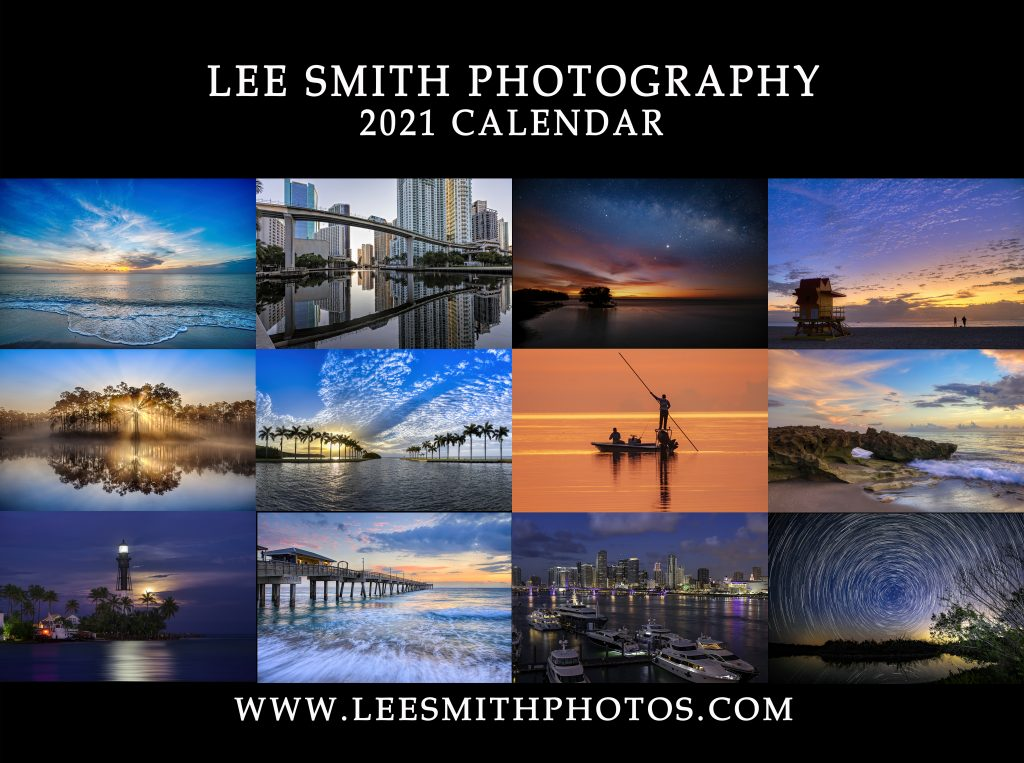 Order your 2021 Photo Calendar from Lee Smith Photography